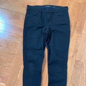 Lucky Brand black Ava Skinny ankle jeans